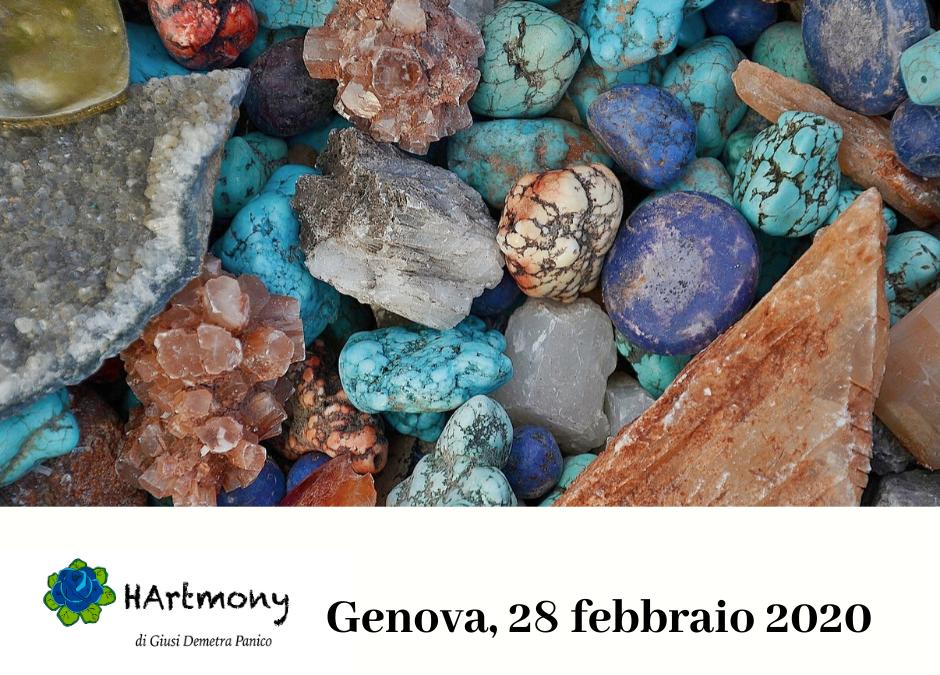 Evento Genova – Minerali e Benessere